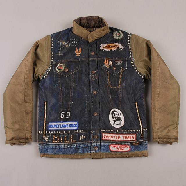 NEIGHBORHOOD CUSTOMISED ARCHIVAL JACKET