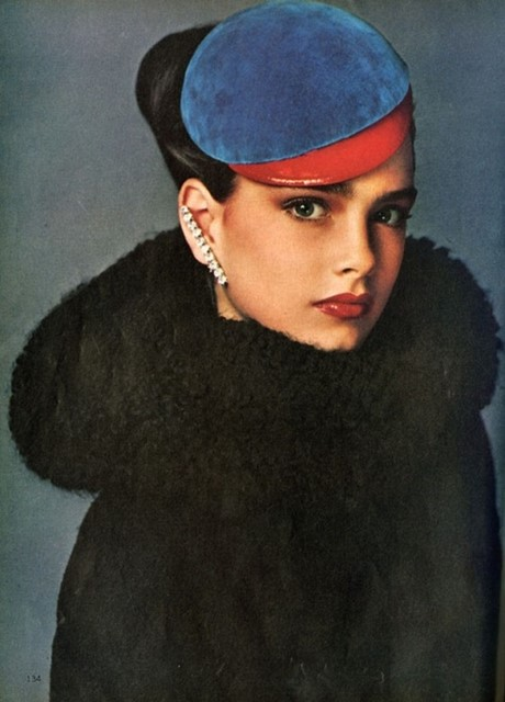 Brooke Shields by Richard Avedon, aged 13