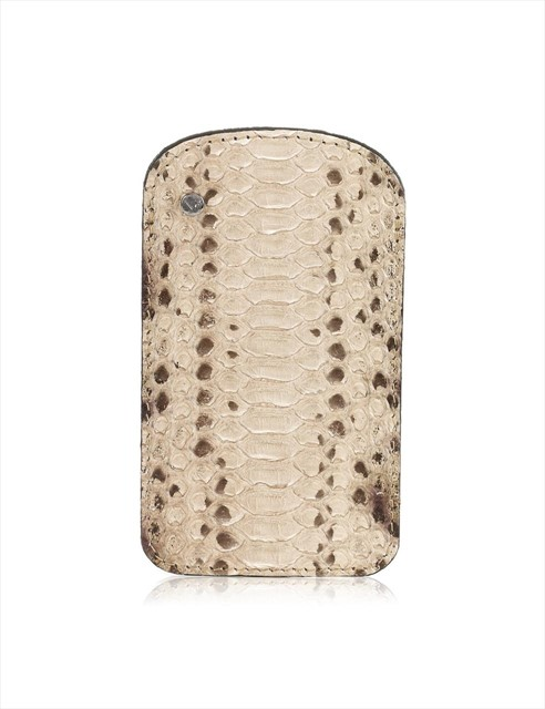 Python Leather Phone Case by Nina Peter