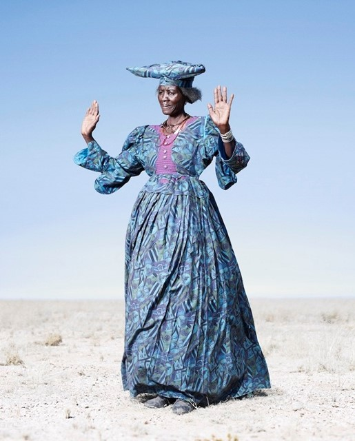 Herero woman, Namibia, by Jim Naughten