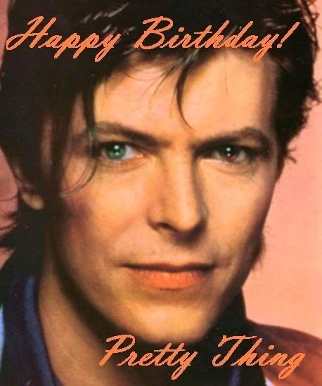 Happy Birthday Bowie!