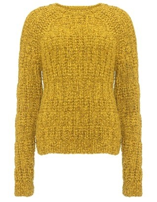 Gold Cashmere Nissen Jumper by Brook Roberts