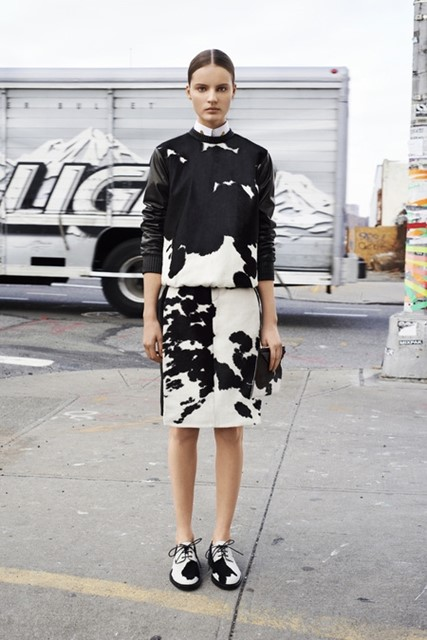 Givenchy Pre-Fall 2013: Look 1
