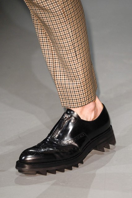 THICK SOLE AT PRADA AW 2013
