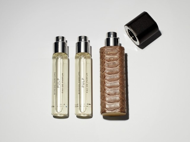 Python Leather Eau de Parfum Travel Case
