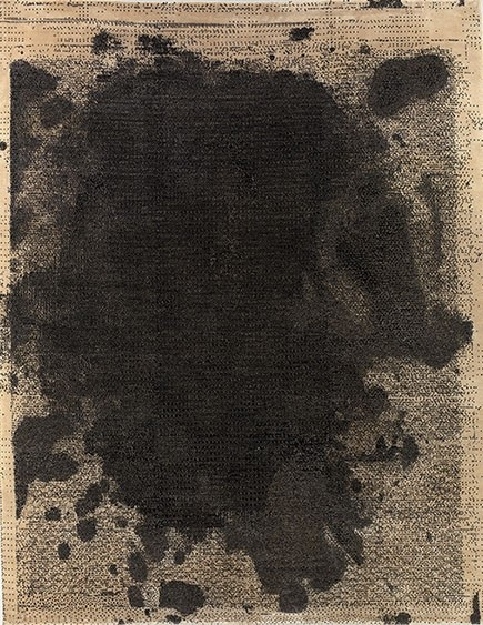Christopher Wool rug from BravinLee