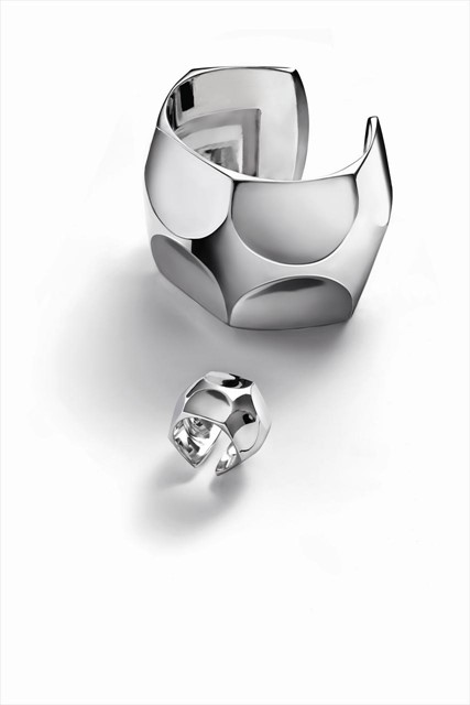 BMania bracelet and ring by Baccarat S/S13