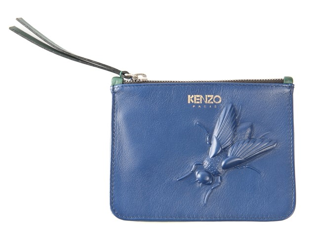 Kenzo fly embossed purse