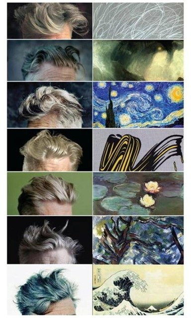 David Lynch's Hair And Its Fine Art Equivalent