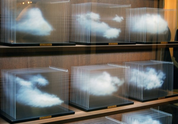 "Leandro Erlich, ""La Vitrina Cloud Collection"""