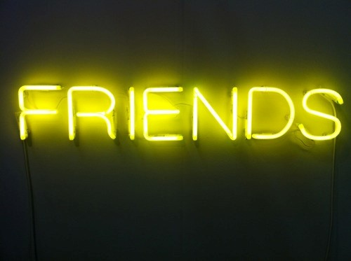 'Friends' by Martin Creed
