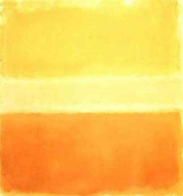 Yellow and Gold, 1956, by Mark Rothko