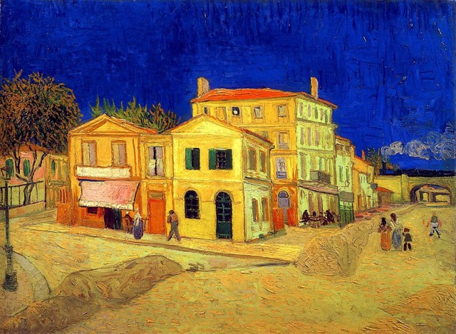 The Yellow House by Vincent Van Gogh 1888