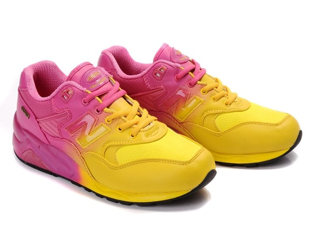 Yellow and pink New Balance
