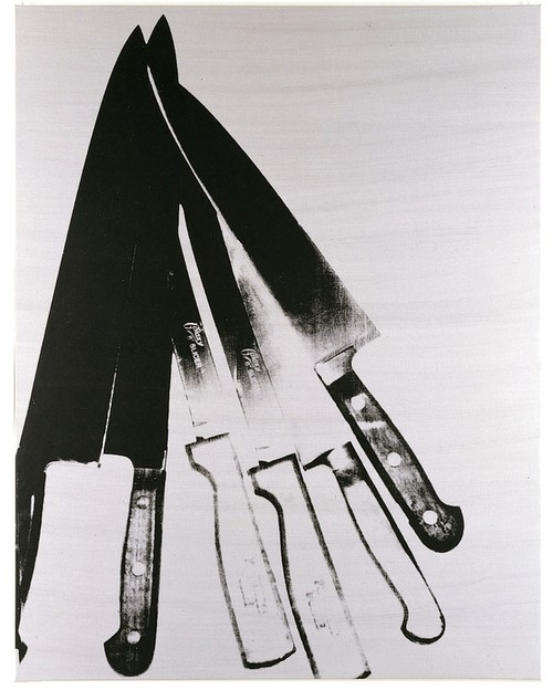 Andy Warhol, Knives. 1982