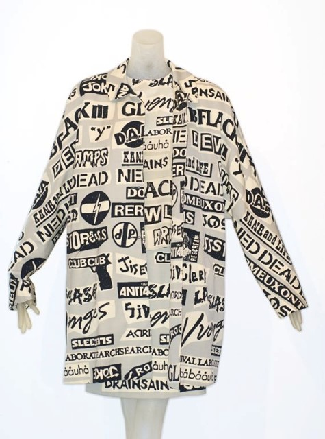 Stephen Sprouse Sticker Print Ensemble