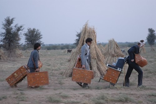 Marc Jacobs for Louis Vuitton monogrammed luggage for The Darjeeling Limited