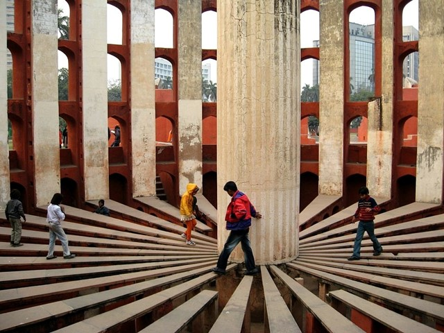 The 'Jantar Mantar' Observatory, Jaipur India