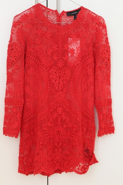 Isabel Marant Embroidered Lace Dress