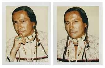 'American Indian (Russell Means)' Andy Warhol (1928-1987)