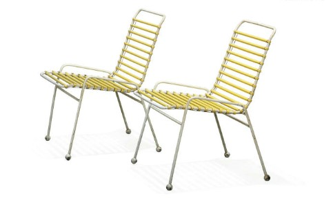 A Pair of Ernest Race (1913 - 1964) 'Springbok' Chairs