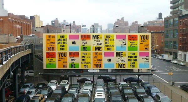 "Allen Ruppersberg's ""You & Me."""