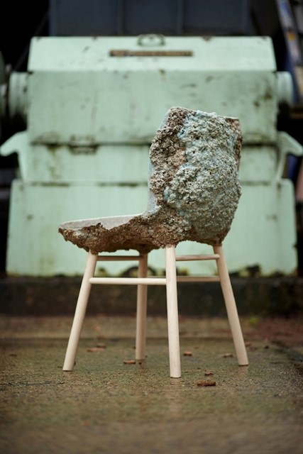 The Well Proven Chair by James Shaw and Marjan van Aubel