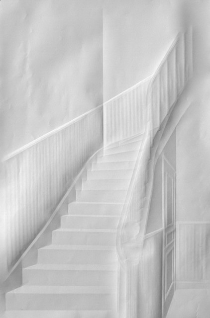 Paper stairs by Simon Schubert