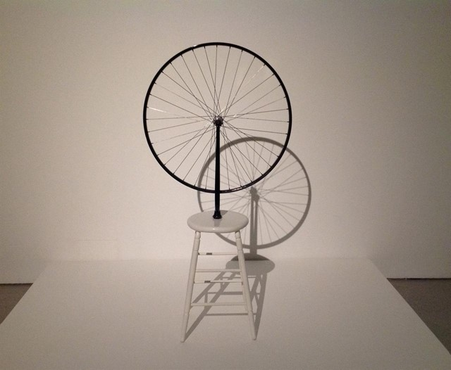 Marcel Duchamp's Bicycle Wheel 1964 (Replica of 1913 Original)