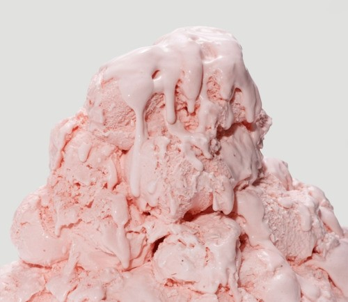 Gelato di Lampone (Raspberry ice cream)