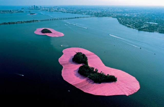 Christo and Jeanne-Claude's Surrounded Islands
