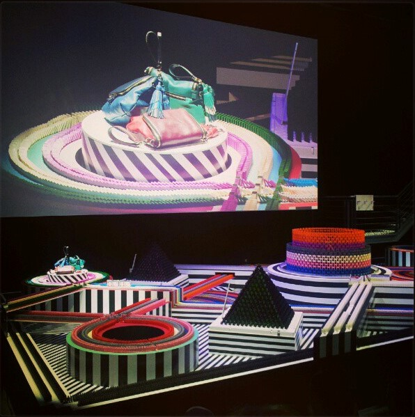 'Cascade' Anya Hindmarch A/W13, Set Design by Rachel Thomas