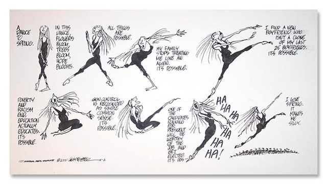 A Dance to Spring, Jules Feiffer, 2000