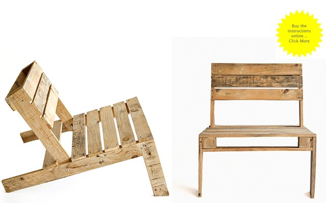Pallet Chair by Studiomama
