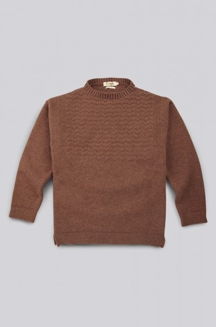 Tobacco Guernsey Sweater