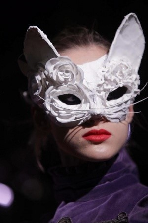 Feline masks at Undercover AW13