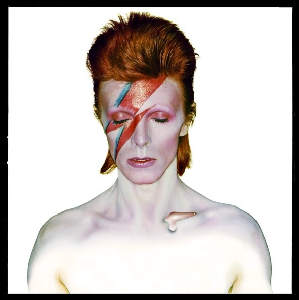 Iconic David Bowie 'Aladdin Sane' photograph
