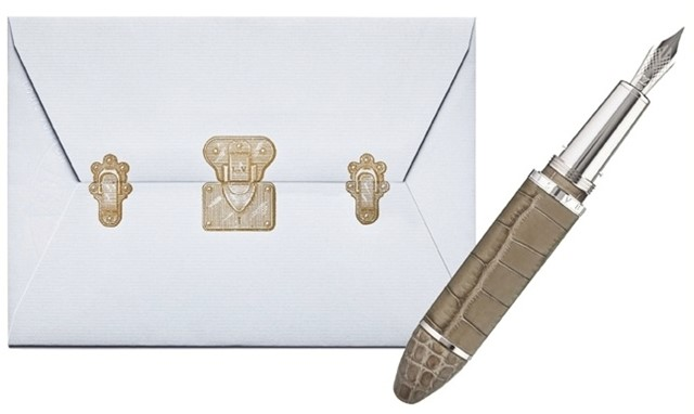 Louis Vuitton personalised notecards