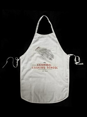 The Cannibal Cooking School Apron