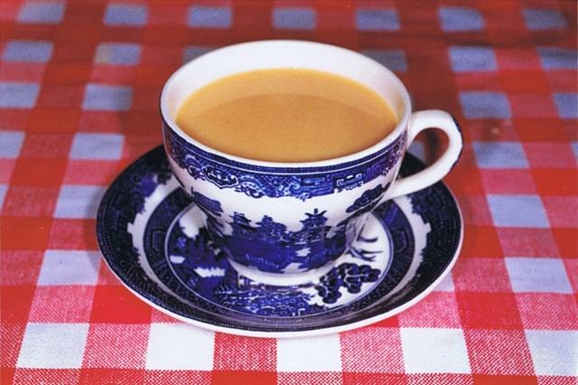 7 cups of tea, Martin Parr