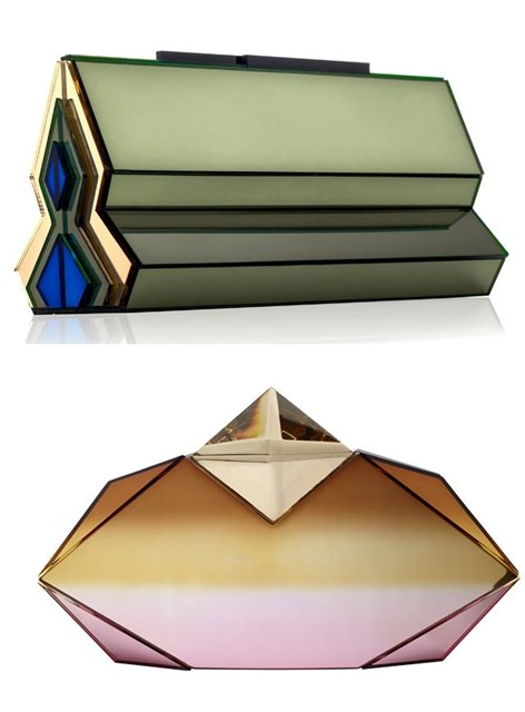 Oversized Gemstone Clutch.
