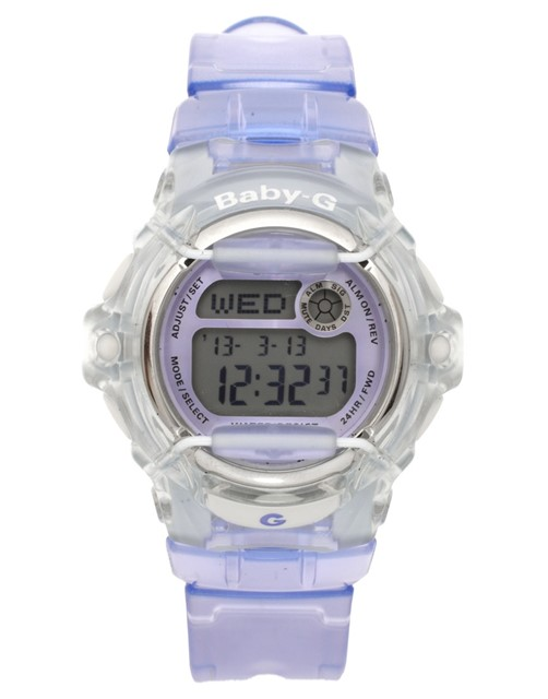 G Shock 'Baby-G' Digital Watch in Lilac