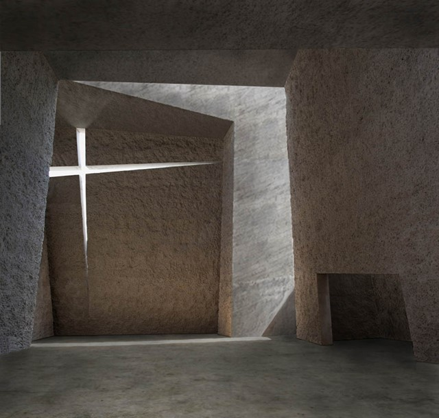 Church in Tenerife by Menis Arquitectos