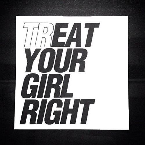 (TR) Eat your girl right Poster.