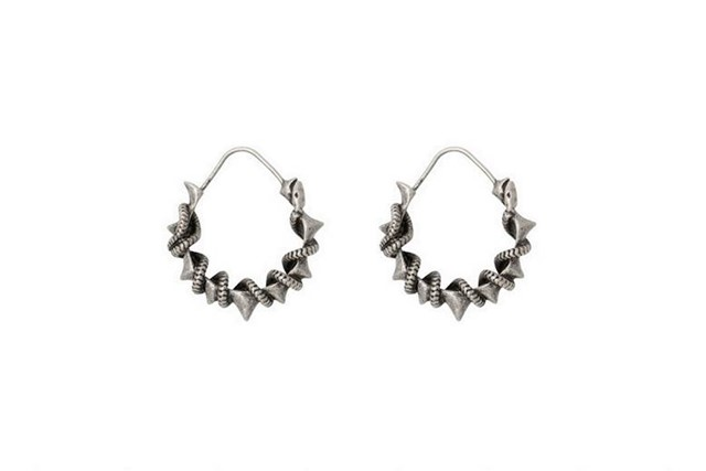 Earrings by Pamela Love for Zadig & Voltaire