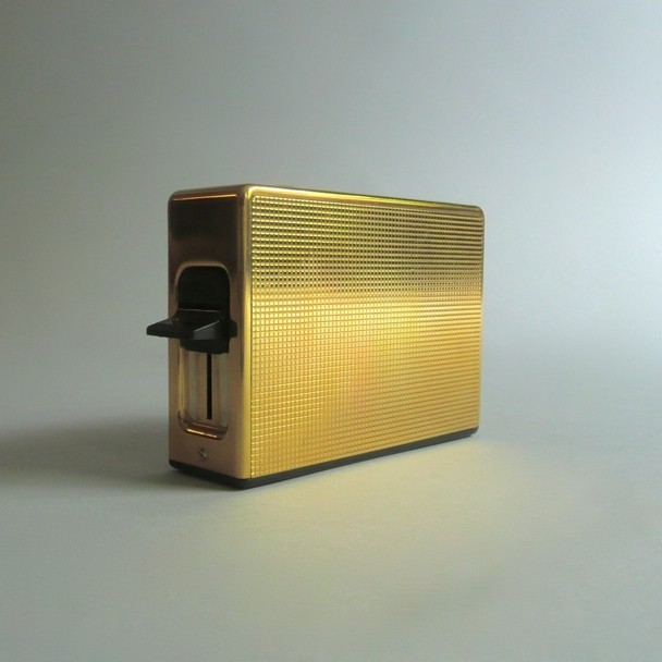 Gold Plated Braun Toaster, 1968.