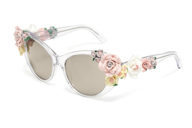 Floral sunglasses by Dolce & Gabbana