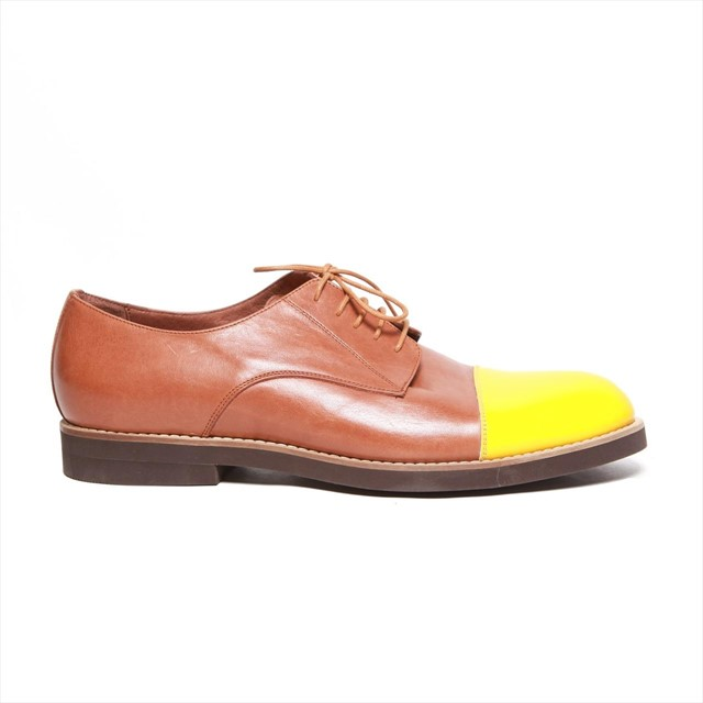 Cognac Nappa Leather Del Toro Shoes