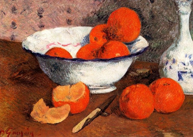 Still Life with Oranges, Paul Gauguin, 1881