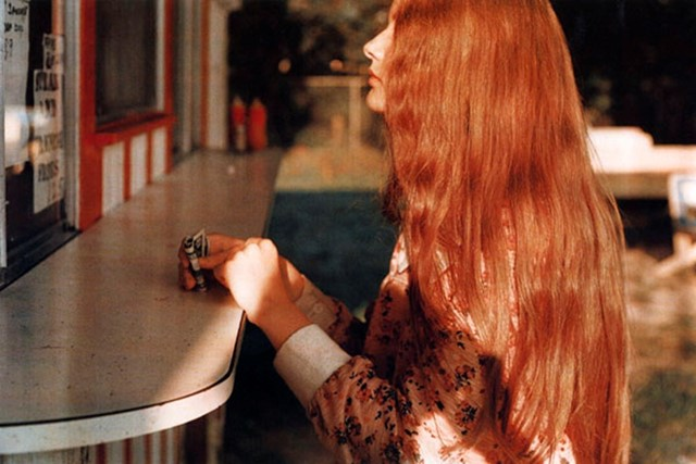 Auburn Hair by William Eggleston